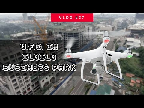 Flying a Drone at Iloilo Business Park   Phantom 4 by DJI