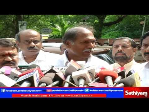 Puducherry opposition leader Rangasamy wishing for CM Jayalalitha with good health