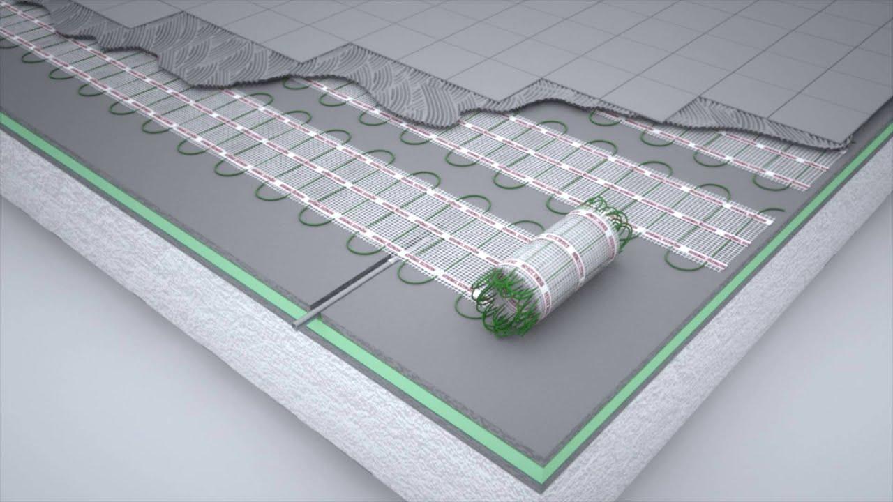 Installation Animation For Electric Underfloor Heating