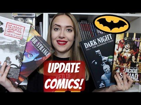 Update Lecture Comics - Mars & Avril 2017