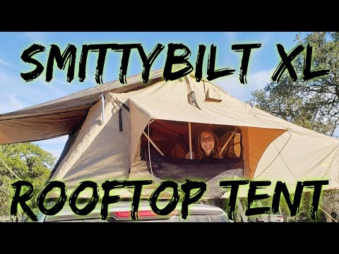 Smittybilt XL Roof Top Tent | Unboxing and Installation
