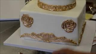 Украшение тортов | Украшение тортов золотом