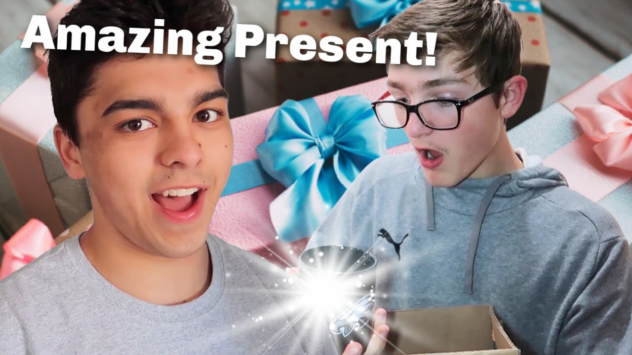 Best Present Ever! | Tried To Sneak Out