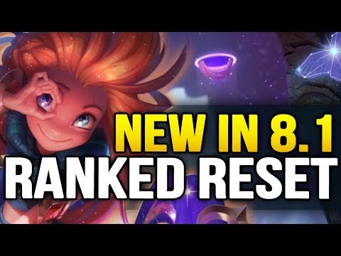 New in Patch 8.1 RANKED RESET and everything you need to know (League of legends) thumbnail