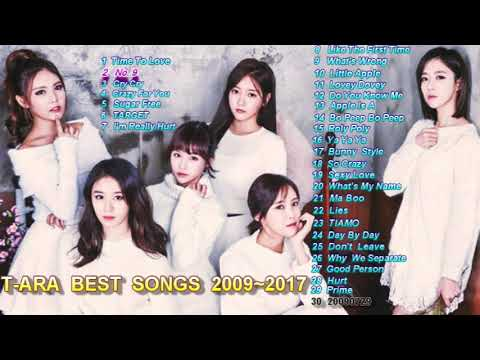 Great songs by T-ara 2009-2017