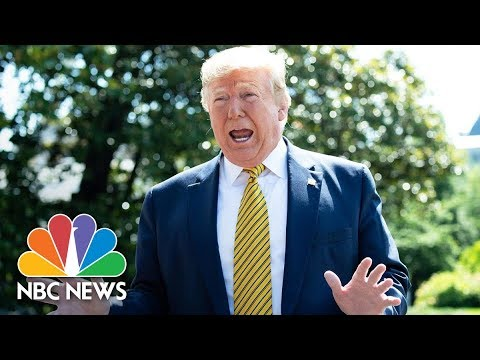 Trump Answers Questions On Iran, ICE Raids And Sexual Assault Allegations | NBC News