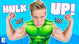 Hulk Up and Get Fit!! Superhero Fitness Challenge for Kids | KIDCITY