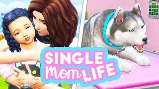 WHAT'S WRONG WITH STORM?😖 // THE SIMS 4 | SINGLE MOM LIFE – TWISTED FATE #26