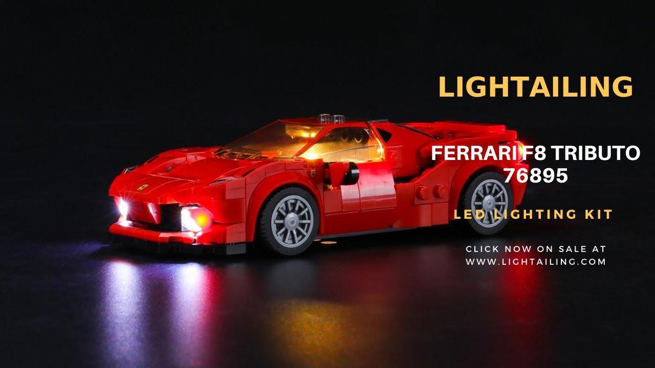Best Light Kit For Speed Champions Ferrari F8 Tributo 76895 Lightailing