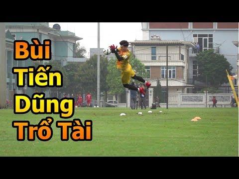 Thử Thách Bóng Đá đi xem Quang Hải , Bùi Tiến Dũng , Đình Trọng U23 Việt Nam tập luyện đấu Thái Lan