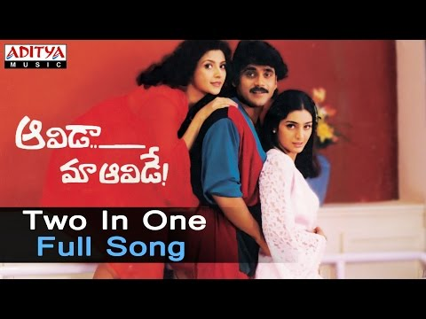 Two In One Full Song ll Aavida Maa Aavide Movie Songs ll Nagarjuna,Tabu, Heera