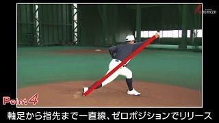 ADVANCED Baseball ピッチング 「リリースポイントまで」 ゼロポジションでリリースするために!
