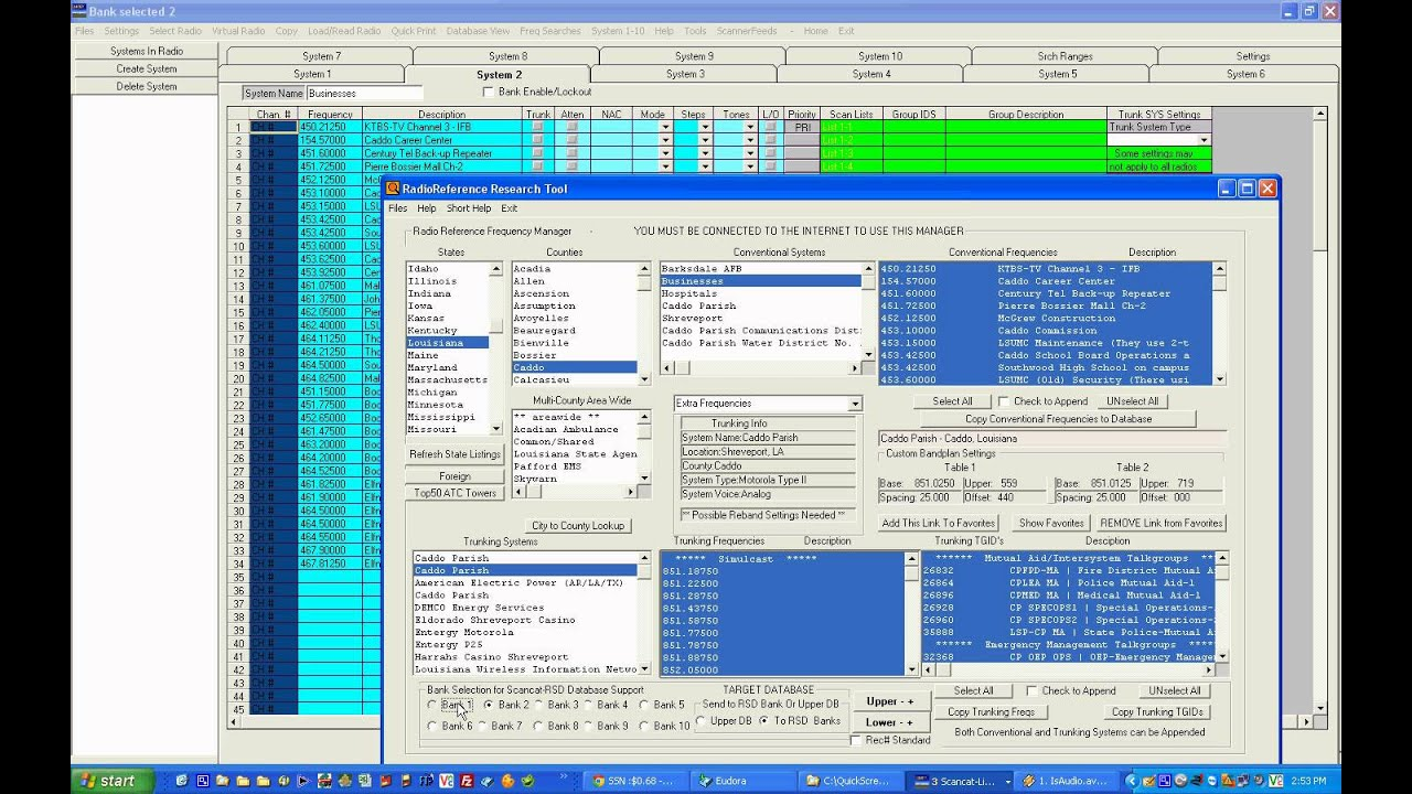 Repeat Scancat Lite Plus RadioReferenceFrequencyManager