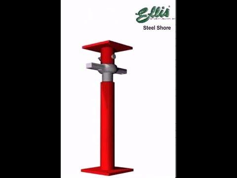 ellis steel shore jack post