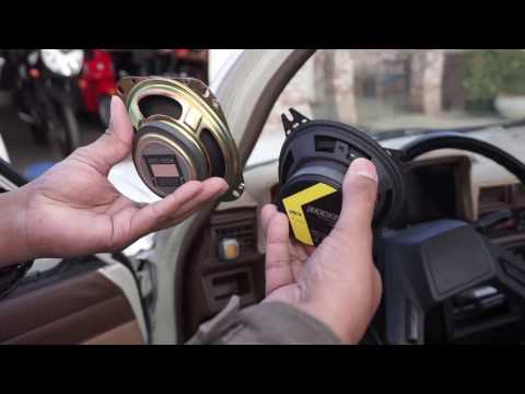 How To Replace The Front Speakers In A 1986 Toyota Pickup