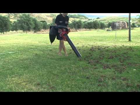 Sopla aspiradora de jardin equus youtube for Aspiradoras para jardin