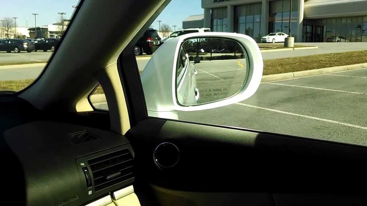Lexus RX 350 Park AssistBlind Spot Monitor Review YouTube