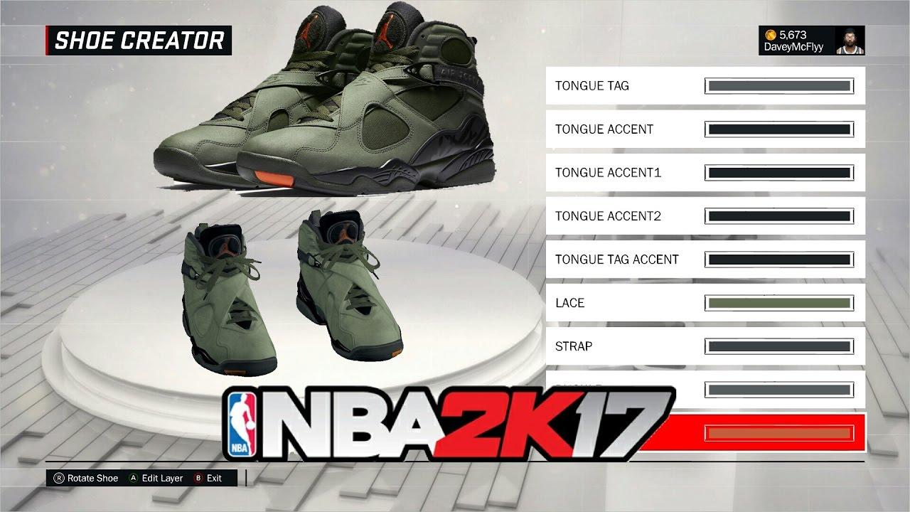 How to make the Air Jordan 8 Take Flight in NBA 2k17