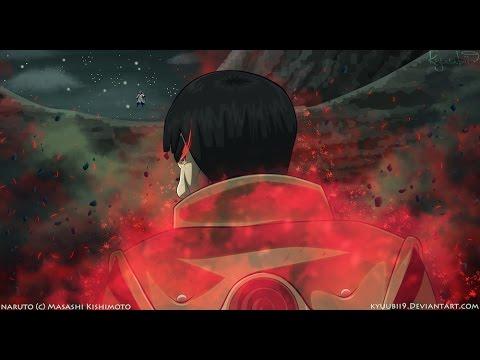 the gate of death gai sensei vs rikudou madara 8 gate openned