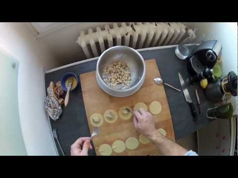 S.Chablis recipe #005 Lobster ravioli and wild caviar