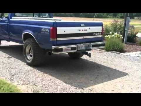 1987 Ford F 150 Xlt Lariat Flowmasters Youtube