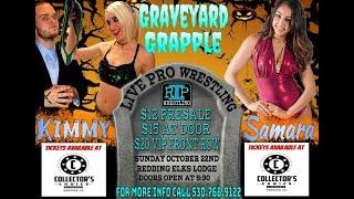 Samara VS Kimmy - RIP Women's Championship Match - Redding Invasion Pro Presents Graveyard Grapple