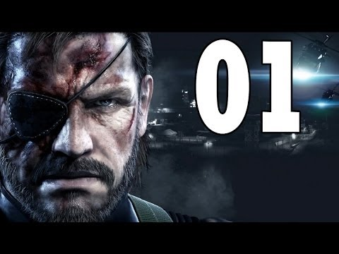 Let's Play Metal Gear Solid 5 Ground Zeroes PS4 Gameplay German Deutsch Part 1 - Big Boss ist zurück