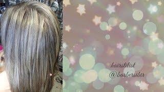 Прикорневое  мелирование/блонд/эстель прима/blond