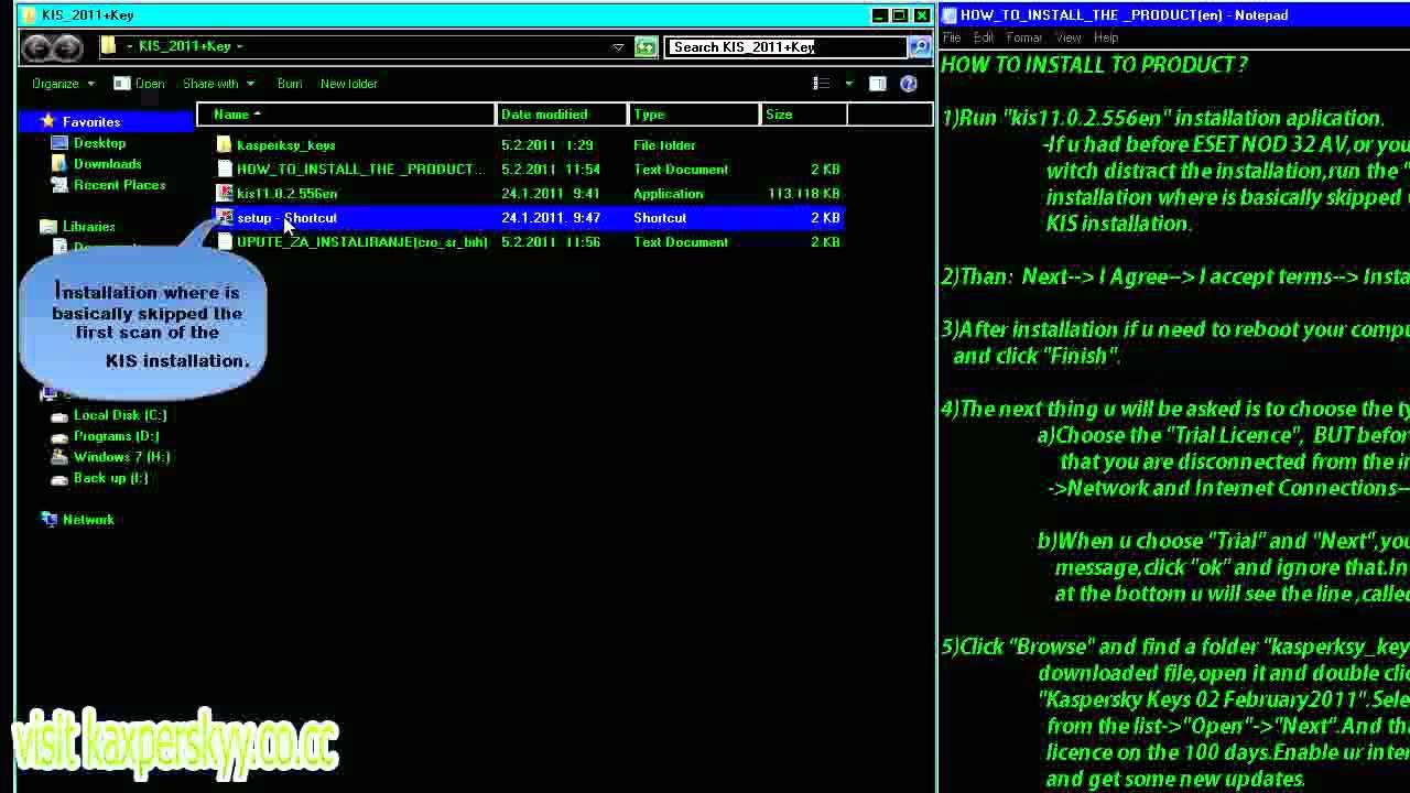 activation code for kaspersky internet security 2011