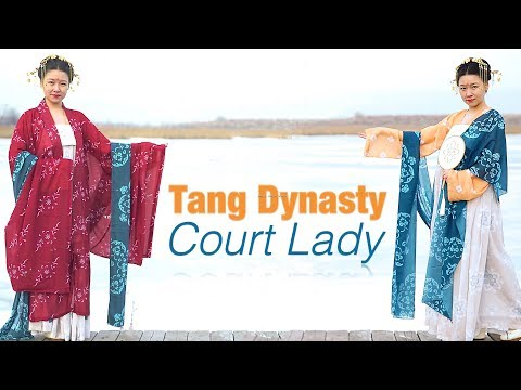 How to Wear Hanfu | Qixiong Ruqun (齊胸襦裙) from the Tang Dynasty