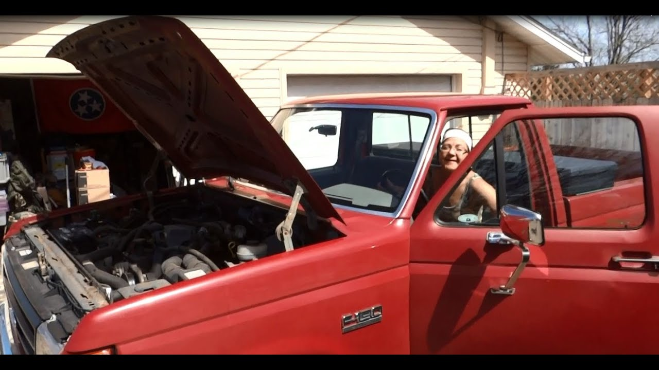 medium resolution of how to easily replace the starter on a 1987 ford f150 4x4 pickup