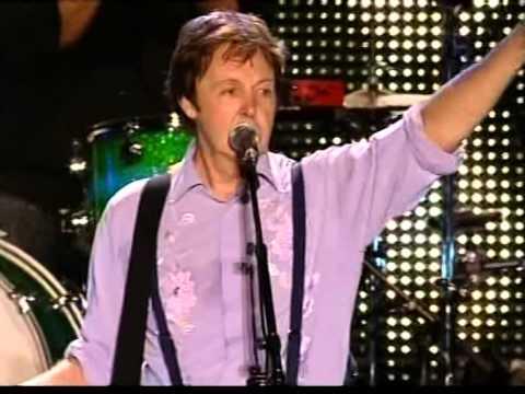 Sir Paul McCartney on Plains of Abraham-Québec City.Canada. FEQ 2008
