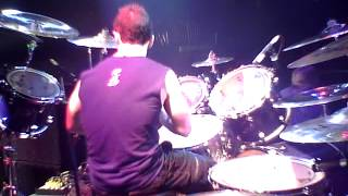 Michael Vafiotis drum cam - I Will Not Bow