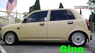 Daihatsu Mira Gino Modified Lowered | BBS Rims | Paroi Autoshow