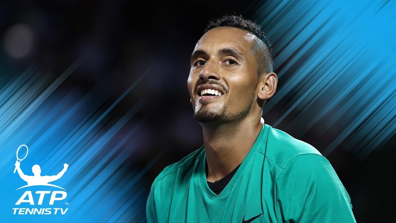ATP tennis players describe Nick Kyrgios in one word!