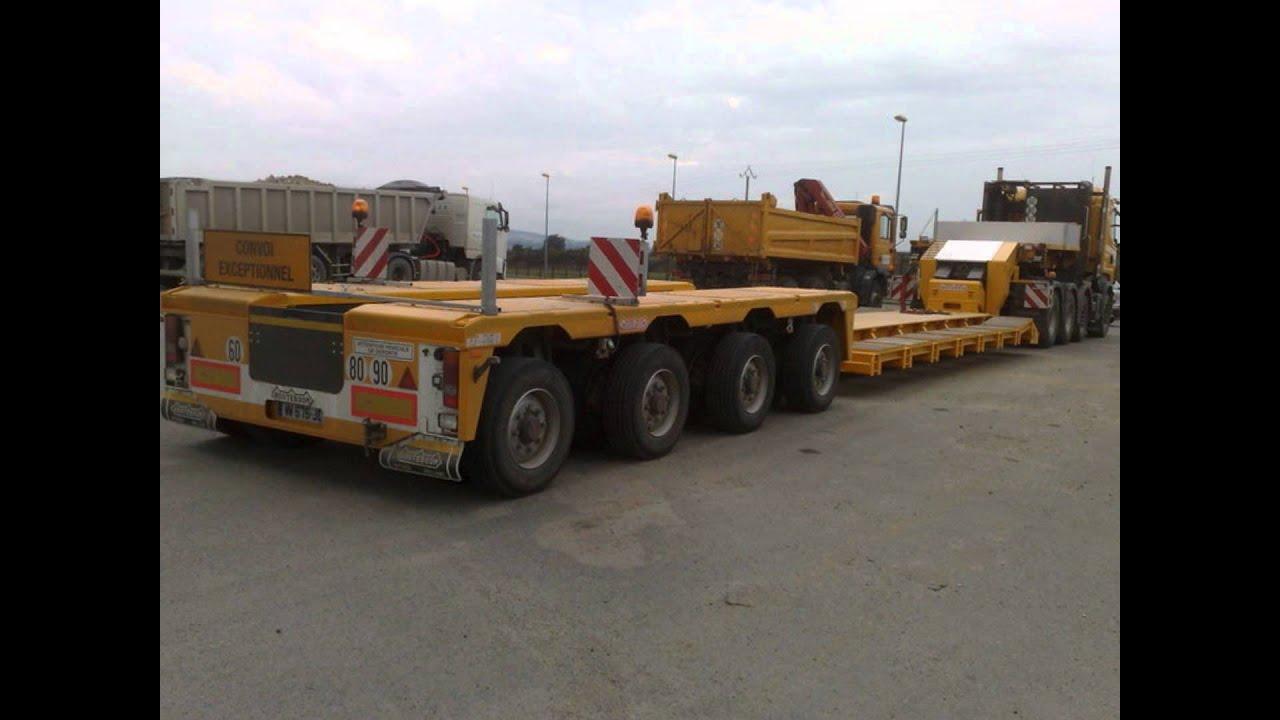camions divers et convoi exceptionnels youtube