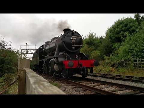 Great Central Railway, Nottingham - Steam engine