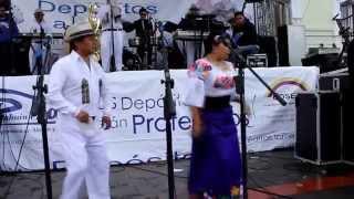 LOS MAYAS EN PARQUE BOLIVAR DE OTAVALO contratos 0997669712