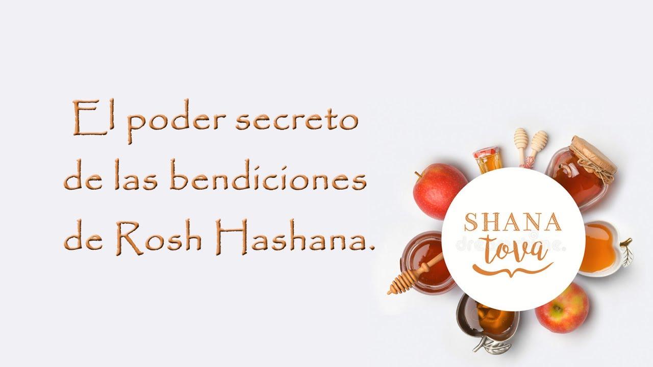 El poder secreto de las bendiciones de Rosh Hashana.