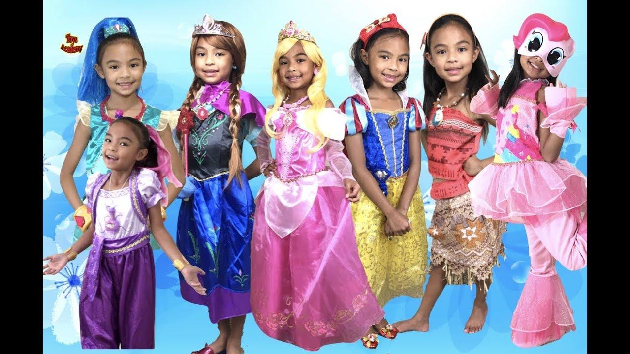 20 halloween costumes shimmer shine disney princess disney frozen mlp moana elena toys academy