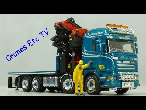 WSI Scania + Palfinger 'BA-Perssons' by Cranes Etc TV