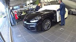 Porsche Panamera E-Hybrid - Collecting our New Car!
