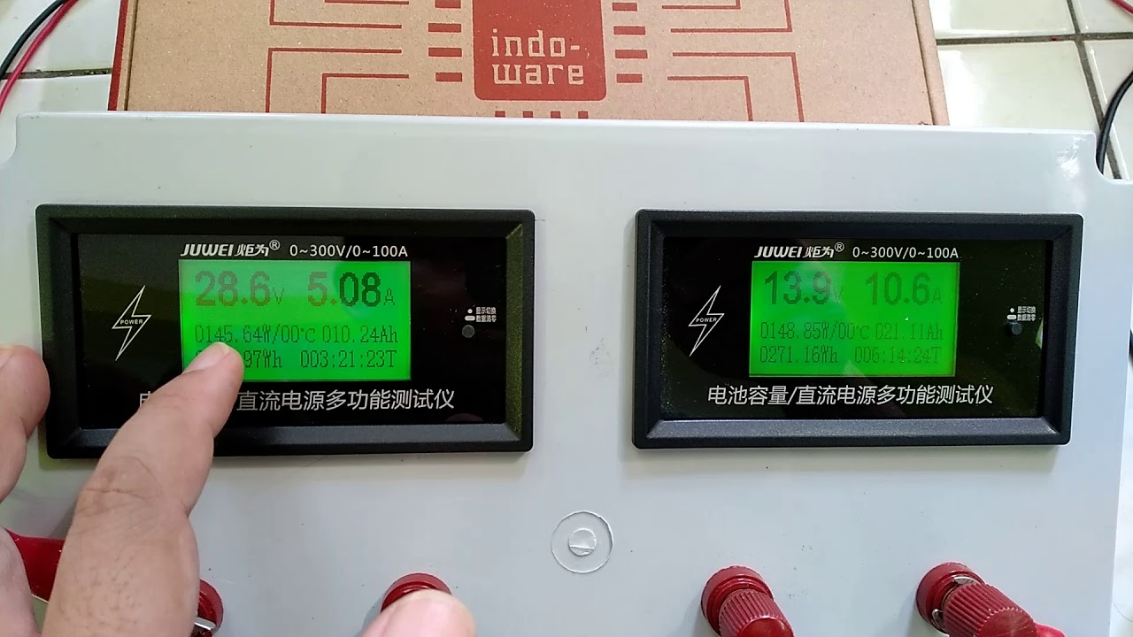 EPever mppt 30a indoware indo-ware test demo