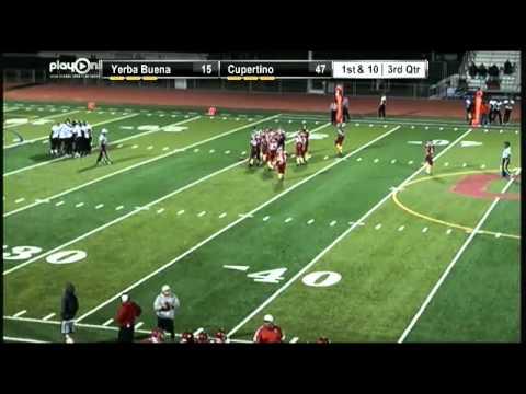 Football- Yerba Buena vs. Cupertino