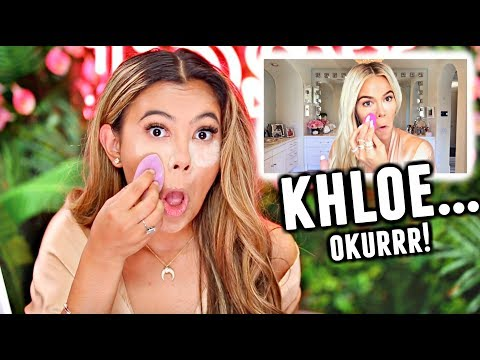 I tried following a Khloé Kardashian Makeup Tutorial... Okurr😂... thumbnail