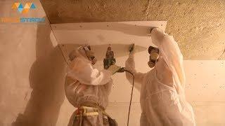 Шумоизоляция (звукоизоляция) потолка. Под натяжной потолок. Лучшее соотношение цена-качество
