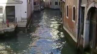 Recorrido por las calles de Venecia.