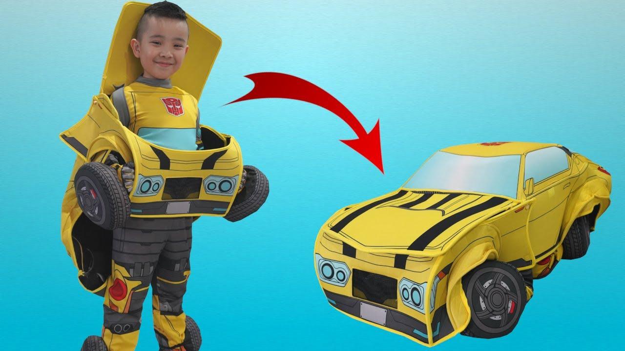 Cool Transformers Bumblebee Converting Costume CKN Toys
