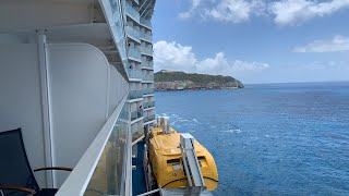 Anthem of the Seas docking in St Maarten