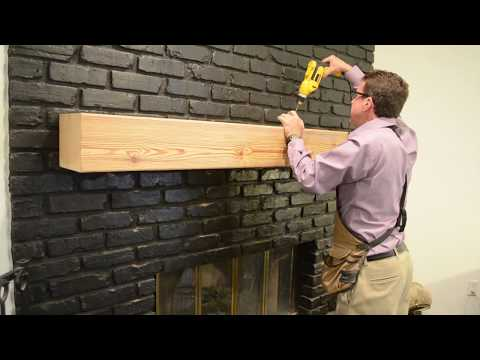 How to install a hollow mantel with Richard L. Ourso, CKD, CAPS